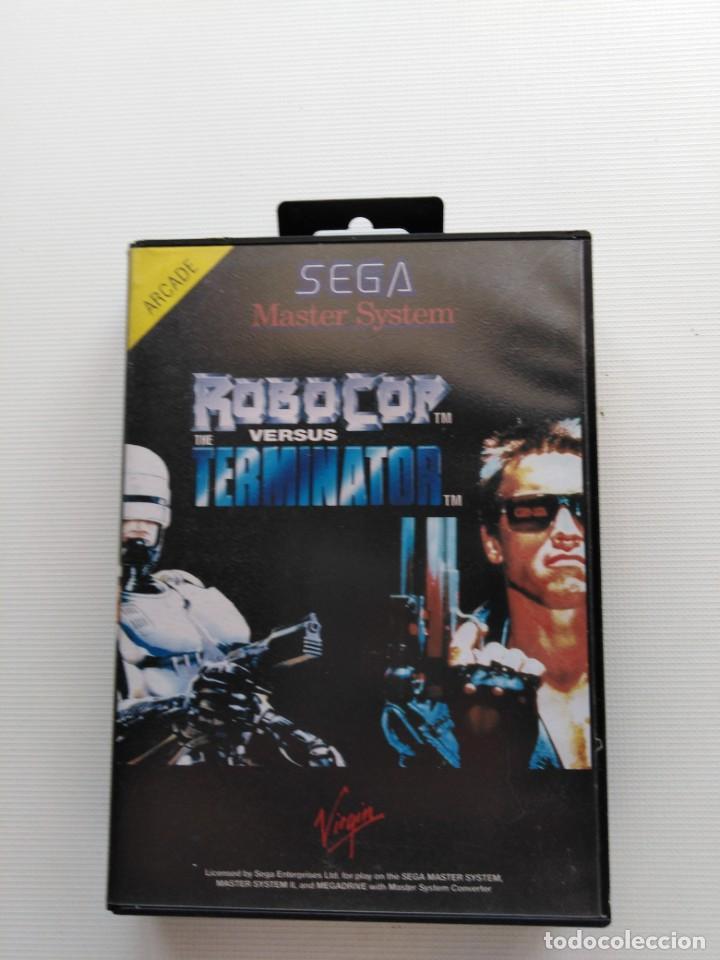 JUEGO MÁSTER SYSTEM ROBOCOP (Juguetes - Videojuegos y Consolas - Sega - Master System)