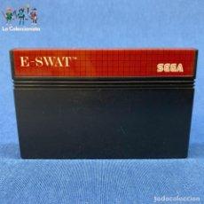 Videojuegos y Consolas: VIDEOJUEGO SEGA MASTER SYSTEM E-SWAT. Lote 210644895