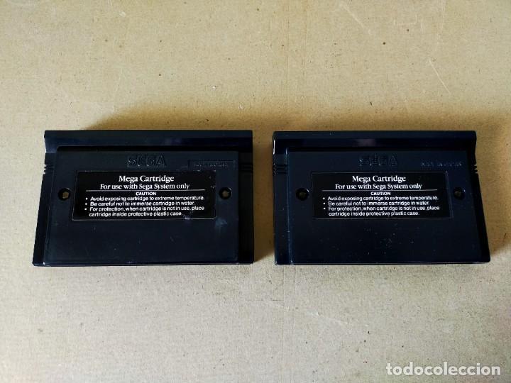 Videojuegos y Consolas: JUEGOS SEGA MASTER SYSTEM: SONIC THE HEDGEHOG Y SONIC THE HEDGEHOG 2 --- SOLO CARTUCHOS - Foto 3 - 211389407