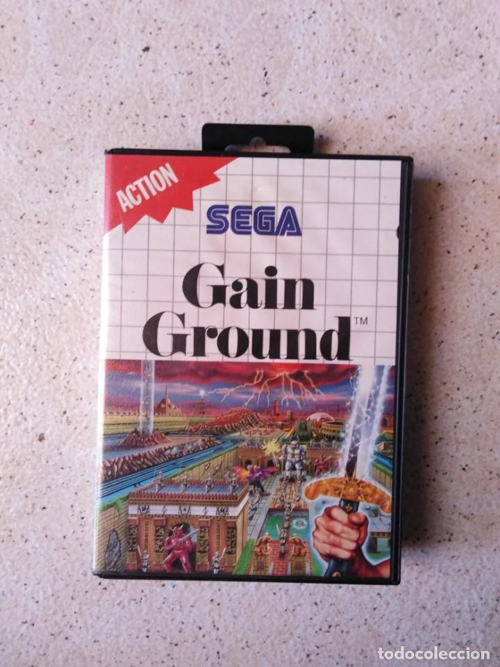 JUEGO SEGA ACTION GAIN GROUND (Juguetes - Videojuegos y Consolas - Sega - Master System)