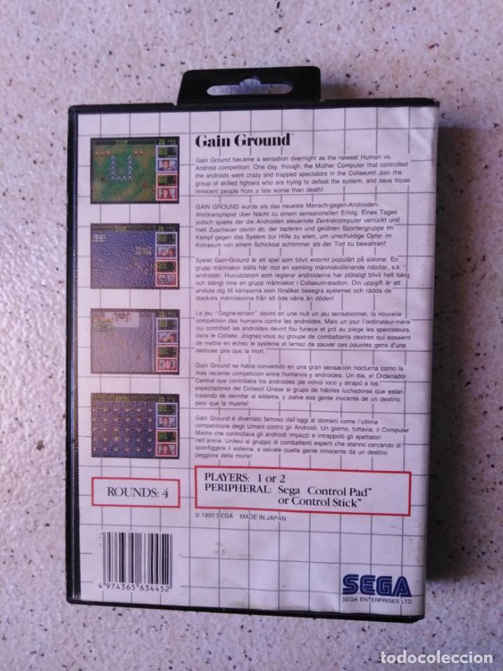 Videojuegos y Consolas: Juego sega action Gain Ground - Foto 3 - 212141890