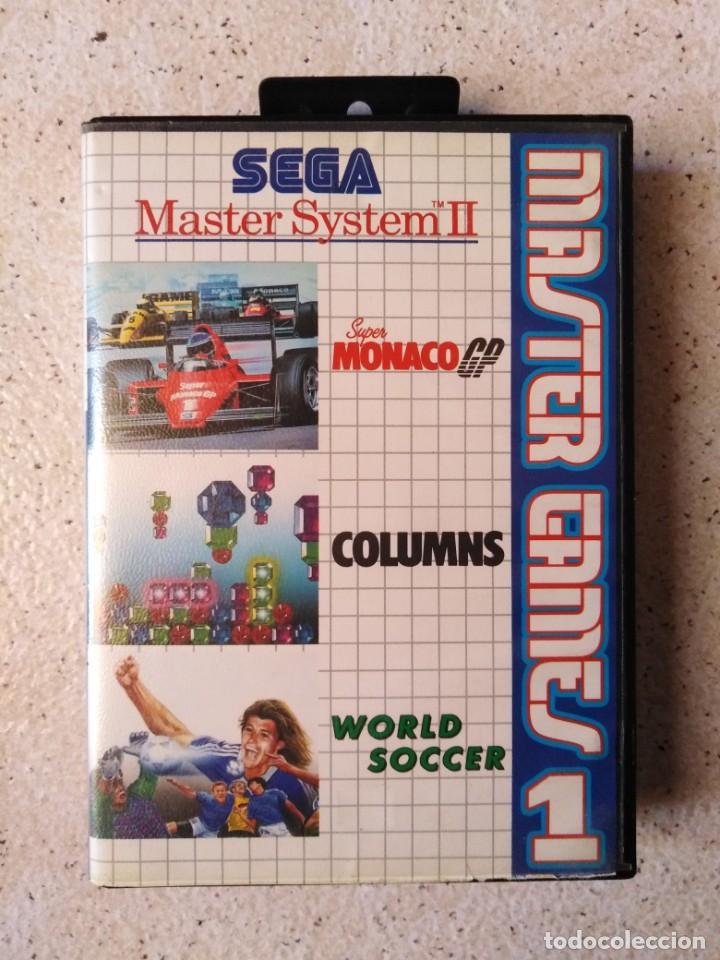 JUEGO SEGA MÁSTER SYSTEM II MASTER GAMES 1 (Juguetes - Videojuegos y Consolas - Sega - Master System)