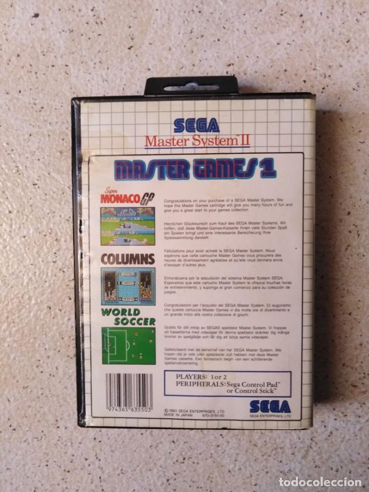 Videojuegos y Consolas: Juego sega Máster System II Master Games 1 - Foto 2 - 212143000