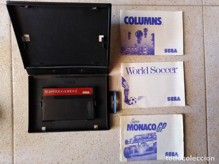 Videojuegos y Consolas: Juego sega Máster System II Master Games 1 - Foto 3 - 212143000