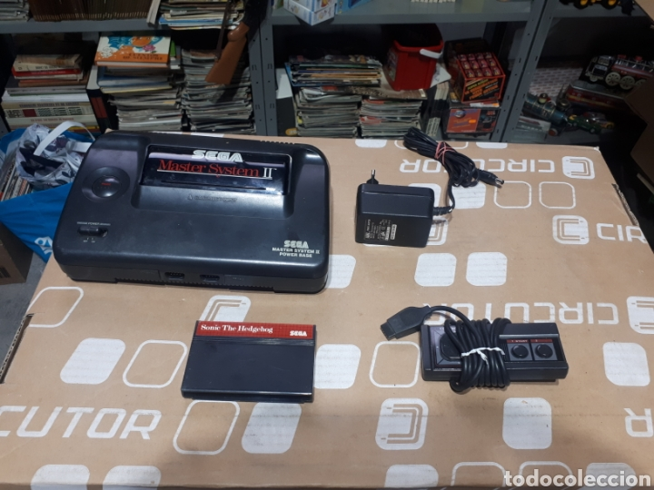 CONSOLA SEGA MASTER SYSTEM PARA REPARAR MANDO FUENTE DE ALIMENTACIÓN NO JUEGO (Juguetes - Videojuegos y Consolas - Sega - Master System)