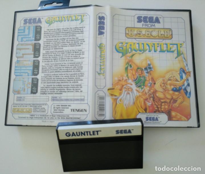 U.S. GOLD GAUNTLET XC (Juguetes - Videojuegos y Consolas - Sega - Master System)