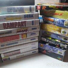 Videojuegos y Consolas: LOTE/ PACK - SEGA MASTER SYSTEM / SNES/ NINTENDO 64 - CAJAS Y VARIADO + REGALO PS3 ( LEER). Lote 212979950