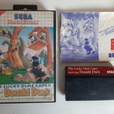 Videojuegos y Consolas: DONALD DUCK SEGA MASTER SYSTEM. Lote 214481563