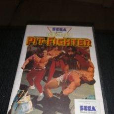 Videojuegos y Consolas: JUEGO PARA SEGA MASTER SYSTEM PIT - FIGHTER CON CAJA SIN MANUAL. Lote 218557183
