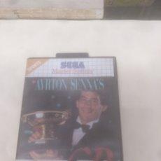 Videojuegos y Consolas: AYRTON SENNA SUPER GP MÓNACO SEGA MÁSTER SYSTEM. Lote 219212081