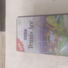 Videojuegos y Consolas: TENNIS ACE SEGA MÁSTER SYSTEM. Lote 219212798