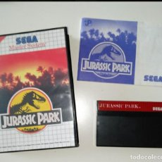 Videojuegos y Consolas: JURASSIC PARK SEGA MASTER SYSTEM. Lote 219902003