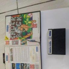 Videojuegos y Consolas: CHUCK ROCK SEGA MASTER SYSTEM PAL-EUROPE. Lote 220549228