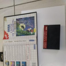 Videojuegos y Consolas: CASTLE OF ILLUSION SEGA MASTER SYSTEM PAL-EUROPE. Lote 220549641