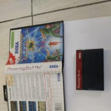 Videojuegos y Consolas: RUNNING BATTLE SEGA MASTER SYSTEM PAL-EUROPE. Lote 220549678