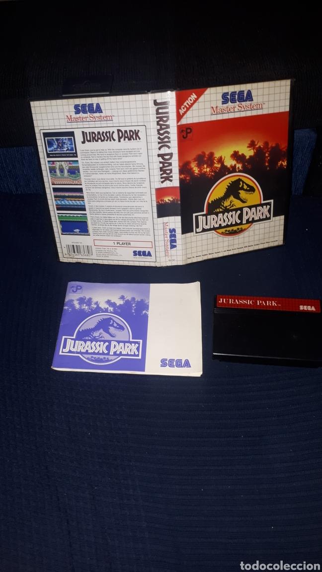 JURASSIC PARK PARA SEGA MASTER SYSTEM (Juguetes - Videojuegos y Consolas - Sega - Master System)