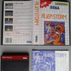 Videojuegos y Consolas: SEGA MASTER SYSTEM ALIEN STORM COMPLETO BOXED CIB PAL R11648. Lote 221660065
