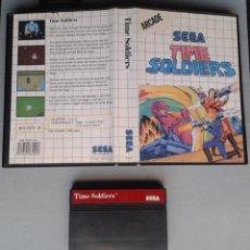 Videojuegos y Consolas: JUEGO SEGA MASTER SYSTEM TIME SOLDIERS INCLUYE CAJA BOXED PAL R11653. Lote 221660425