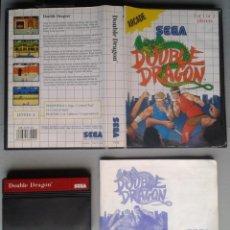 Videojuegos y Consolas: SEGA MASTER SYSTEM DOUBLE DRAGON COMPLETO CON CAJA Y MANUAL BOXED CIB PAL! R11654. Lote 221660478