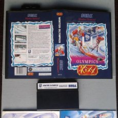 Videogiochi e Consoli: SEGA MASTER SYSTEM WINTER OLYMPICS KIXX COMPLETO CON CAJA MANUAL BOXED CIB PAL! R11656. Lote 221661058