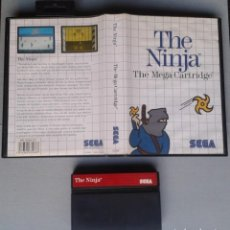 Videojuegos y Consolas: JUEGO SEGA MASTER SYSTEM THE NINJA INCLUYE CAJA BOXED PAL R11661. Lote 221661463