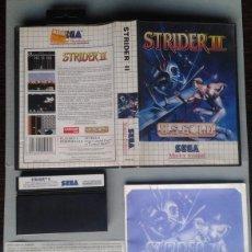Videojuegos y Consolas: SEGA MASTER SYSTEM STRIDER II COMPLETO CON CAJA MANUAL BOXED CIB PAL! R11663. Lote 221661620