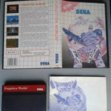 Videojuegos y Consolas: SEGA MASTER SYSTEM FORGOTTEN WORLDS COMPLETO CON CAJA MANUAL BOXED CIB PAL! R11664. Lote 221661696