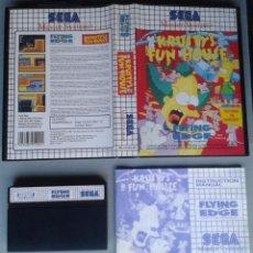 Videojuegos y Consolas: SEGA MASTER SYSTEM KRUSTY´S FUN HOUSE COMPLETO CON CAJA MANUAL BOXED CIB PAL! R11665. Lote 221661777