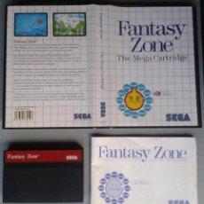 Videojuegos y Consolas: SEGA MASTER SYSTEM FANTASY ZONE COMPLETO CON CAJA MANUAL BOXED CIB PAL! R11668. Lote 221661948