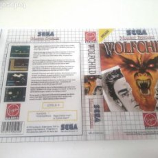 Videojuegos y Consolas: WOLFCHILD MASTER SYSTEM CARATULA COVER REMPLAZO NINTENDO SONY SEGA MEGADRIVE DREAMCAST SATURN. Lote 221687307