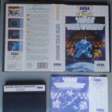 Videojuegos y Consolas: SEGA MASTER SYSTEM SUPER SPACE INVADERS COMPLETO CON CAJA MANUAL BOXED CIB PAL R11683. Lote 221752920