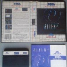 Videojuegos y Consolas: SEGA MASTER SYSTEM ALIEN 3 COMPLETO CON CAJA MANUAL BOXED CIB PAL R11686. Lote 221753105