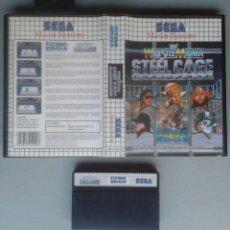 Videojuegos y Consolas: SEGA MASTER SYSTEM STEEL CAGE CHALLENGE INCLUYE CAJA BOXED PAL R11687. Lote 221753156