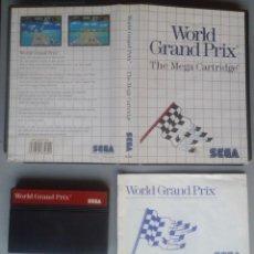 Videojuegos y Consolas: SEGA MASTER SYSTEM WORLD GRAND PRIX COMPLETO CON CAJA MANUAL BOXED CIB PAL R11689. Lote 221753246
