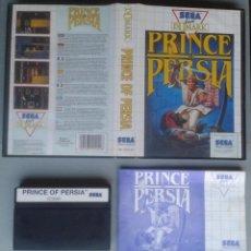 Videojuegos y Consolas: SEGA MASTER SYSTEM PRINCE OF PERSIA COMPLETO CON CAJA MANUAL BOXED CIB PAL R11690. Lote 221753411