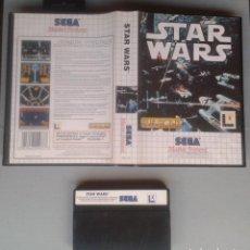 Videojuegos y Consolas: SEGA MASTER SYSTEM STAR WARS INCLUYE CAJA BOXED PAL R11692. Lote 221753525