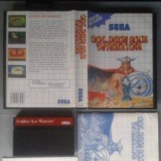 Videojuegos y Consolas: SEGA MASTER SYSTEM GOLDEN AXE WARRIOR COMPLETO CON CAJA MANUAL BOXED CIB PAL R11699. Lote 221753980