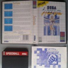 Videojuegos y Consolas: SEGA MASTER SYSTEM SPEEDBALL COMPLETO CON CAJA MANUAL BOXED CIB PAL R11700. Lote 221754042