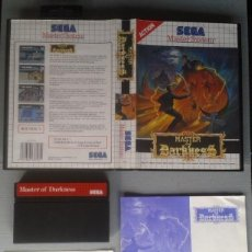 Videojuegos y Consolas: SEGA MASTER SYSTEM MASTER OF DARKNESS COMPLETO CON CAJA MANUAL BOXED CIB PAL R11702. Lote 221754171
