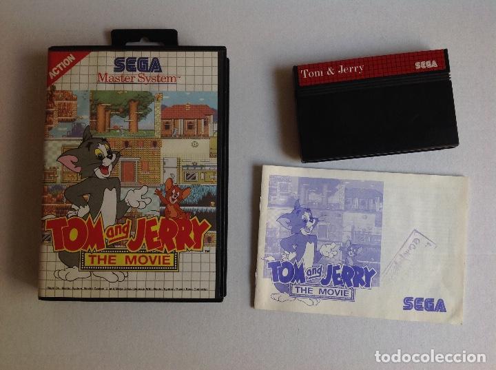 TOM & JERRY THE MOVIE -MASTER SYSTEM - (Juguetes - Videojuegos y Consolas - Sega - Master System)