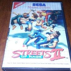 Videojuegos y Consolas: STREETS OF RAGE II SEGA MASTER SYSTEM *SOLO CAJA Y CARATULA*. Lote 221939213