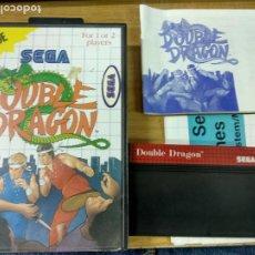 Videojuegos y Consolas: DOUBLE DRAGON - SEGA MASTER SYSTEM - COMPLETO - PAL ESP. Lote 221965680