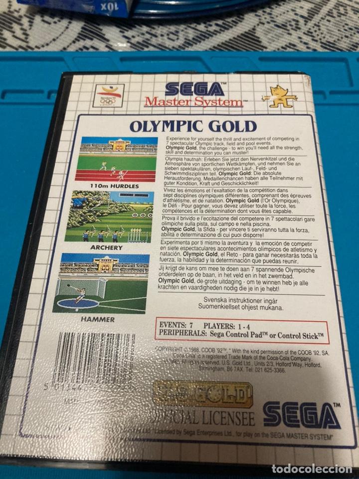Videojuegos y Consolas: Juego Olympic Gold Barcelona 92 Master System II - Foto 2 - 222487602