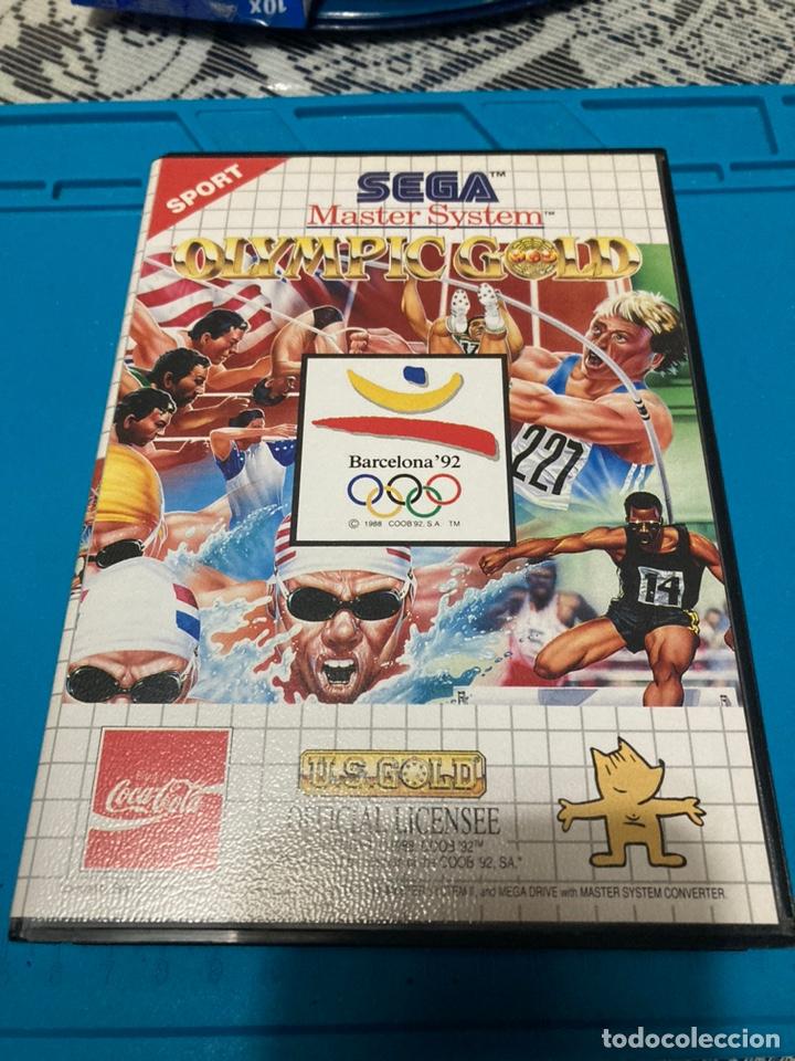 JUEGO OLYMPIC GOLD BARCELONA 92 MASTER SYSTEM II (Juguetes - Videojuegos y Consolas - Sega - Master System)