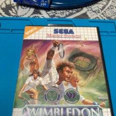 Videojuegos y Consolas: JUEGO WIMBLEDON MASTER SYSTEM II. Lote 222487796