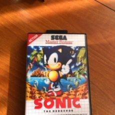 Videojuegos y Consolas: JUEGO MASTER SYSTEM SONIC. Lote 222632703