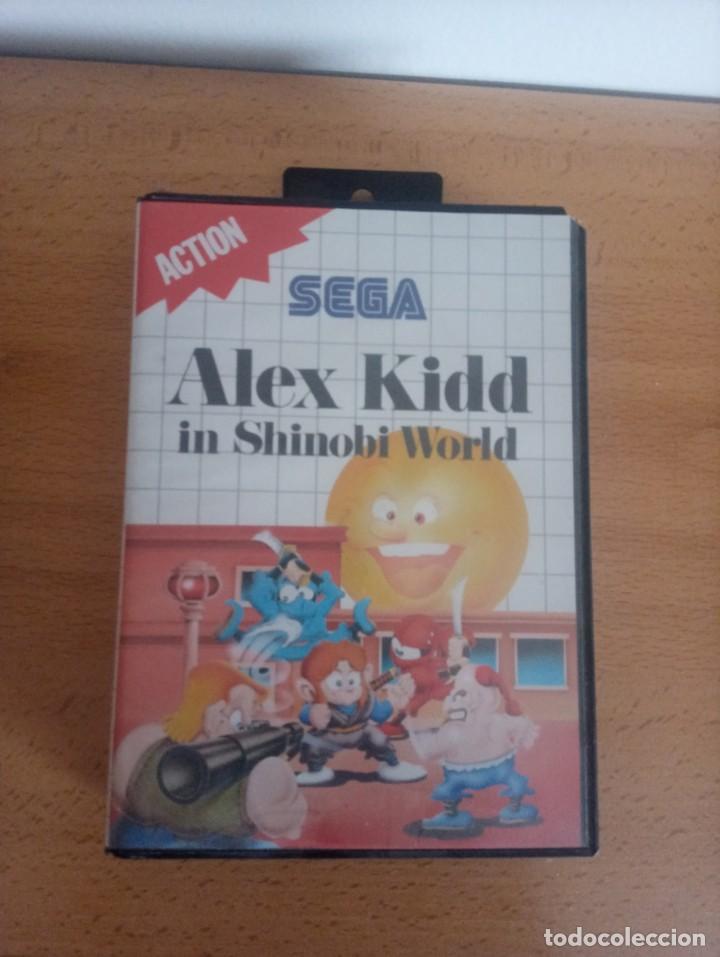 ALEX KIDD IN SHINOBI WORLD. SEGA MASTER SYSTEM. (Juguetes - Videojuegos y Consolas - Sega - Master System)