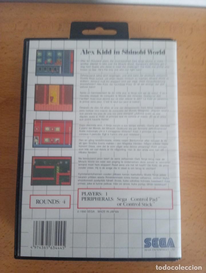 Videojuegos y Consolas: Alex Kidd in Shinobi World. SEGA Master System. - Foto 2 - 224754286