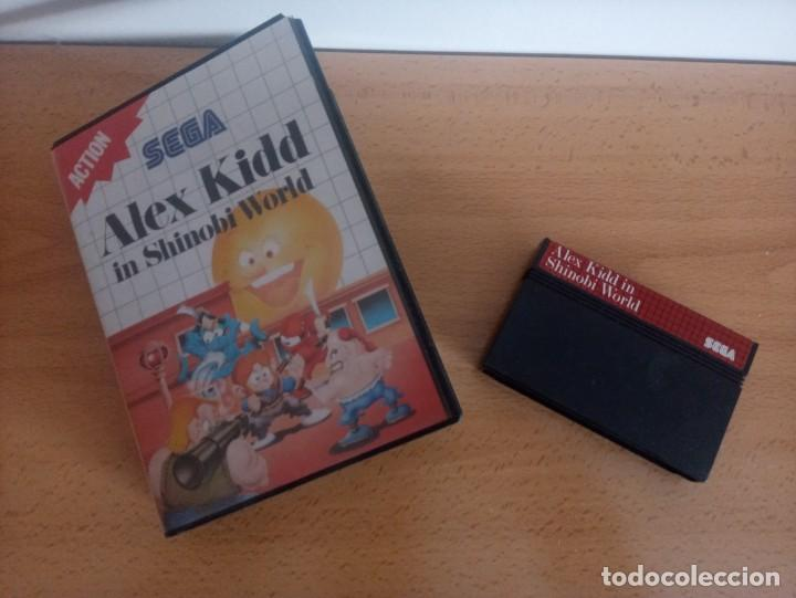 Videojuegos y Consolas: Alex Kidd in Shinobi World. SEGA Master System. - Foto 3 - 224754286