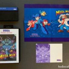 Videojuegos y Consolas: VIDEOJUEGO MEGA MAN SEGA MASTER SYSTEM COMPLETO RARO! MEGAMAN. Lote 226613355